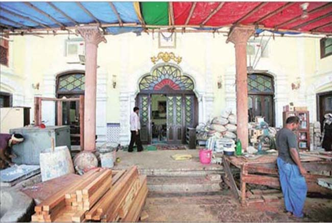 Bringing the past back: A 165-year old Delhi haveli shows the way - See more at: http://indianexpress.com/article/lifestyle/art-and-culture/bringing-the-past-back/#sthash.7o1jUClD.dpuf