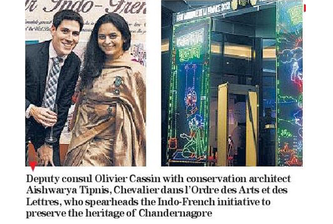 Chandernagore meets France at Bastille day celebrations