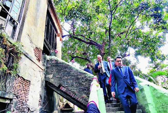 French consul general cries heritage neglect