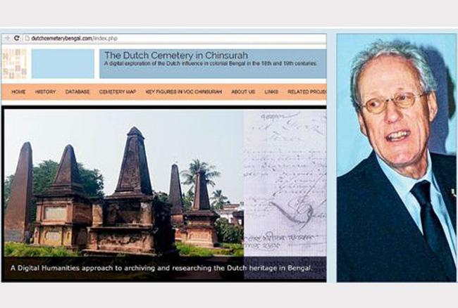 Dutch in Chinsurah website
