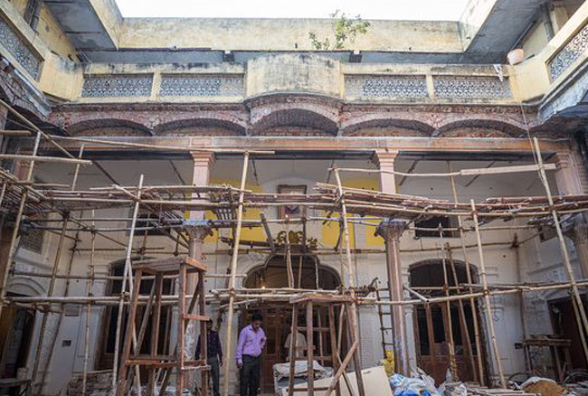 Remaking an old Delhi haveli for love