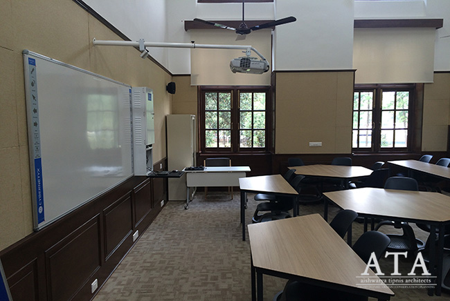 Restoration and reuse of Doon School: The Smart Classroom