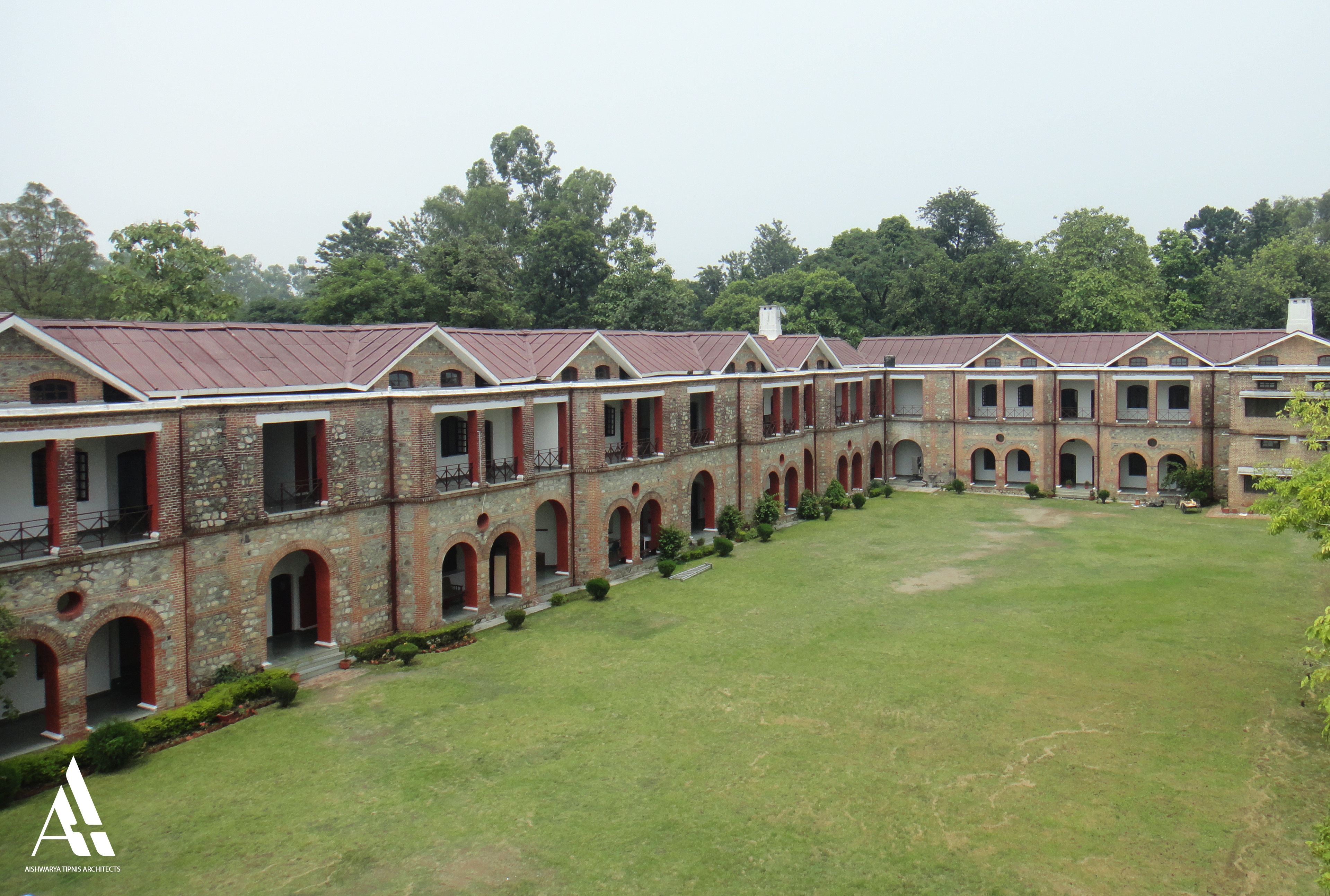 Conservation and interior up gradation plan for Hyderabad & Kashmir House, the Doon School