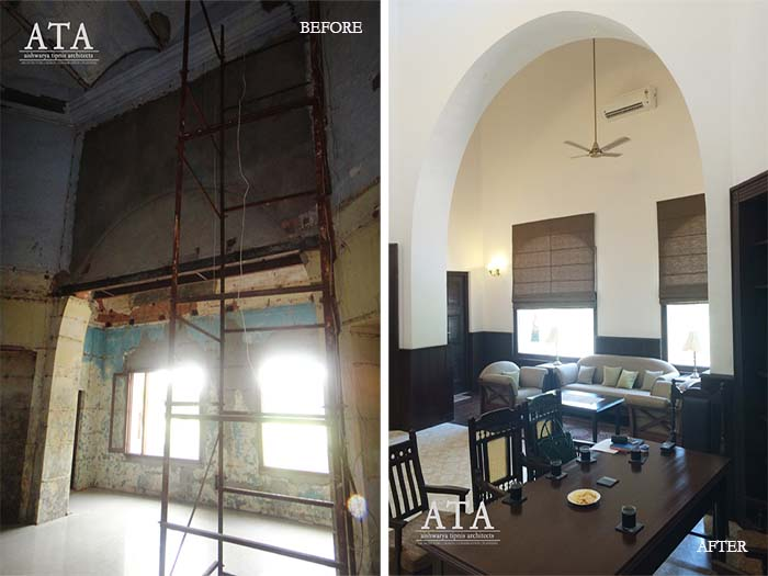 Restoration Of Director's Office Indian Institute Of Technology, Roorkee