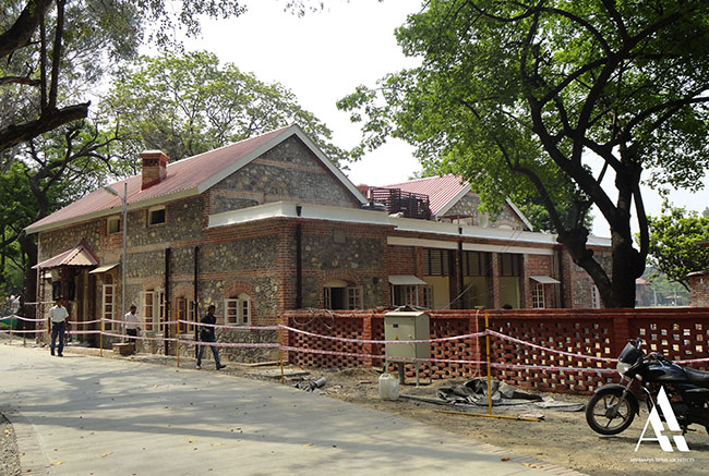 Adaptive Reuse of Old Masters Common Room into Faculty Housing for Doon School