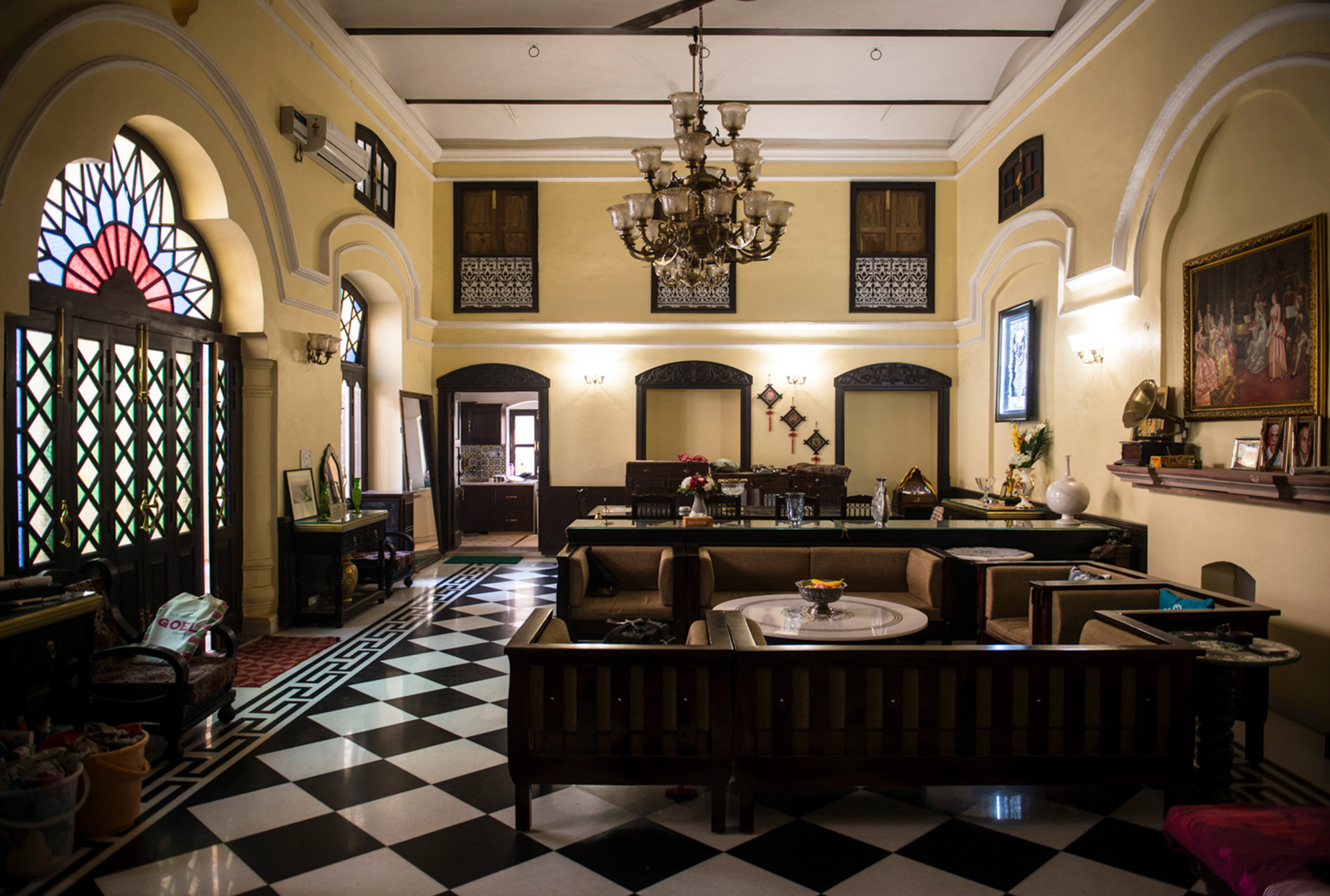 Restoration & Adaptive Reuse of Seth Ram Lal Khemka Haveli, Kashmere Gate, Delhi