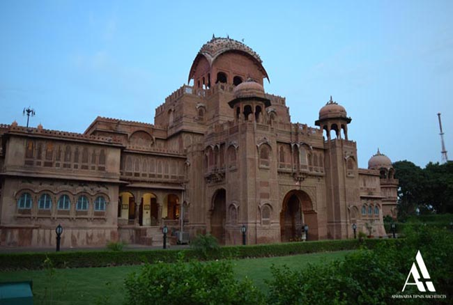 Restoration of Laxmi Niwas Palace, Bikaner
